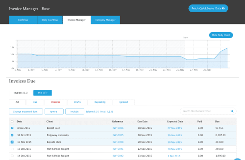 float invoice manager