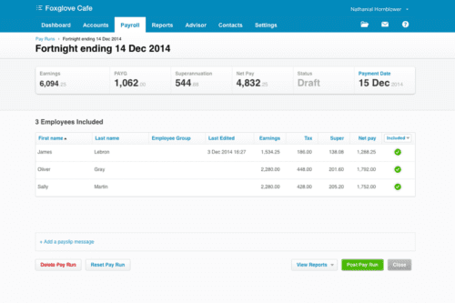 how to use xero