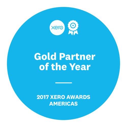 Xero Gold Partner of the Year 2017